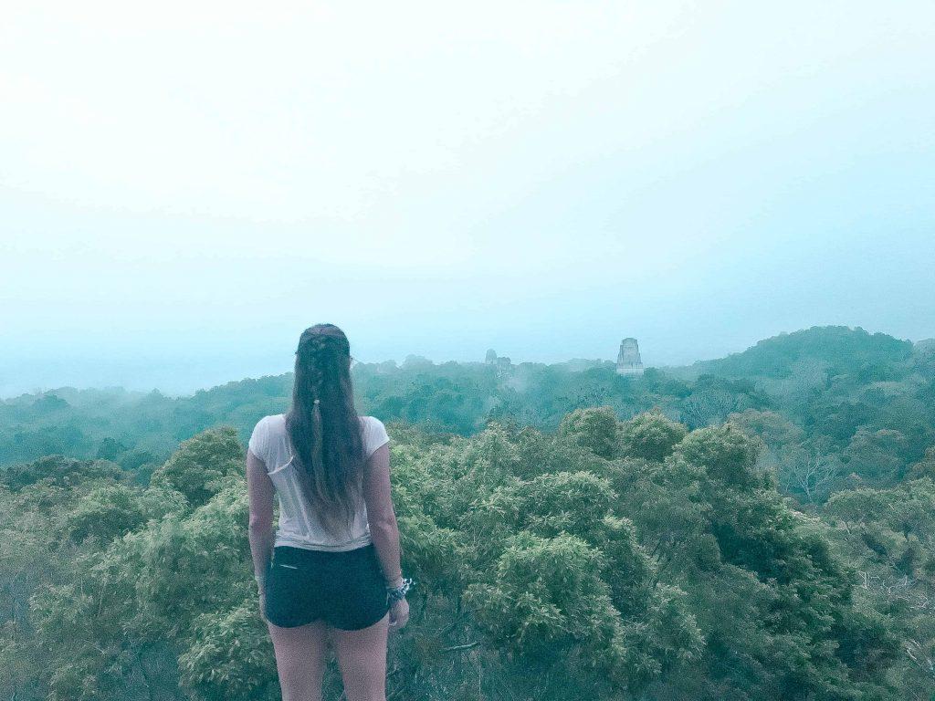 Tikal from the sunrise tour