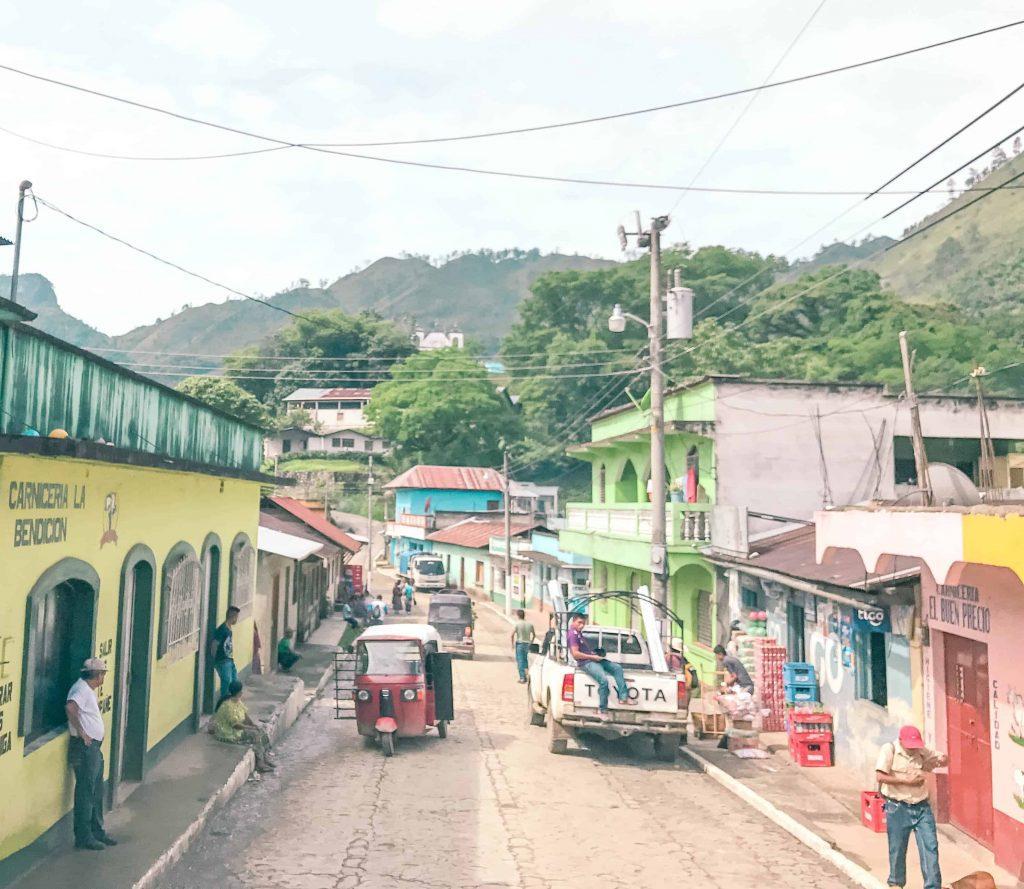 down town lanquin guatemala