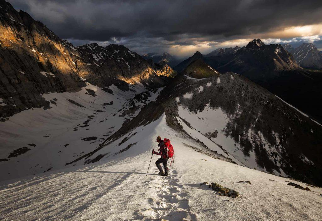 trekking K County BANFF alberta canada