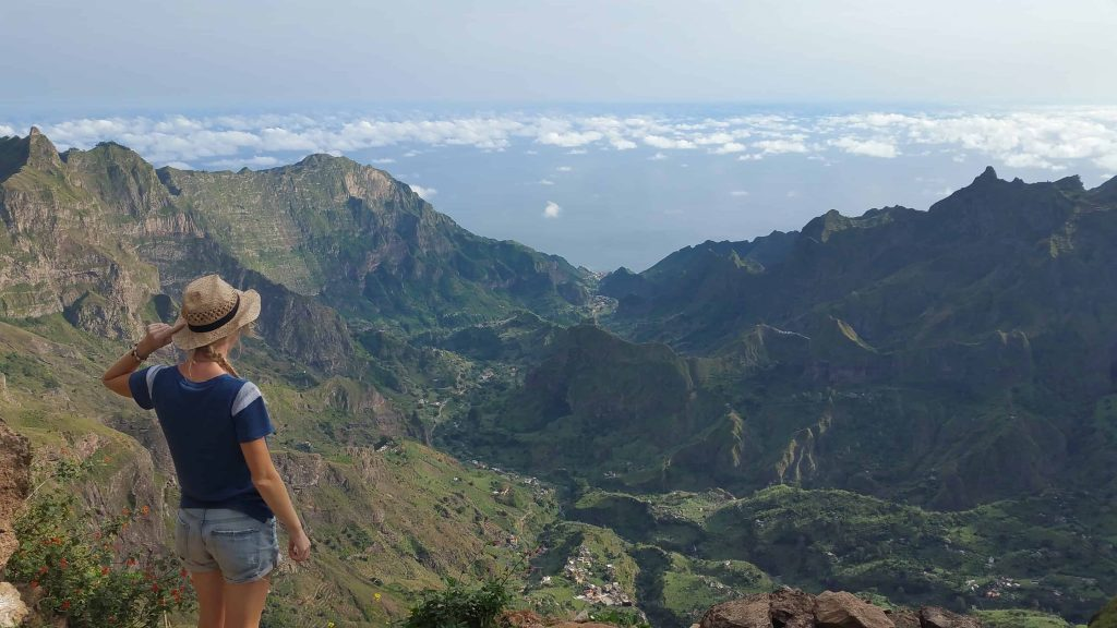 hiking on cape verde island