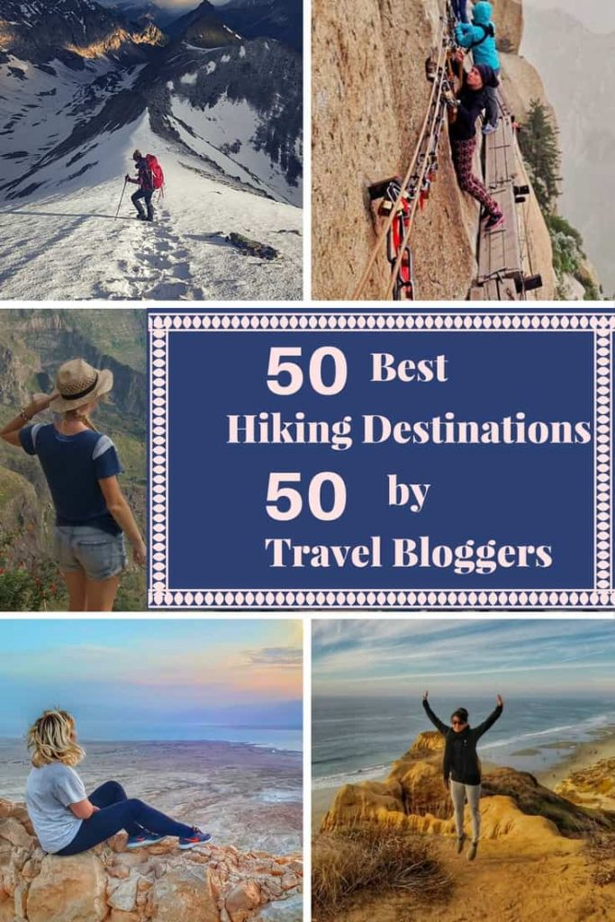 50 travel bloggers 50 hikes