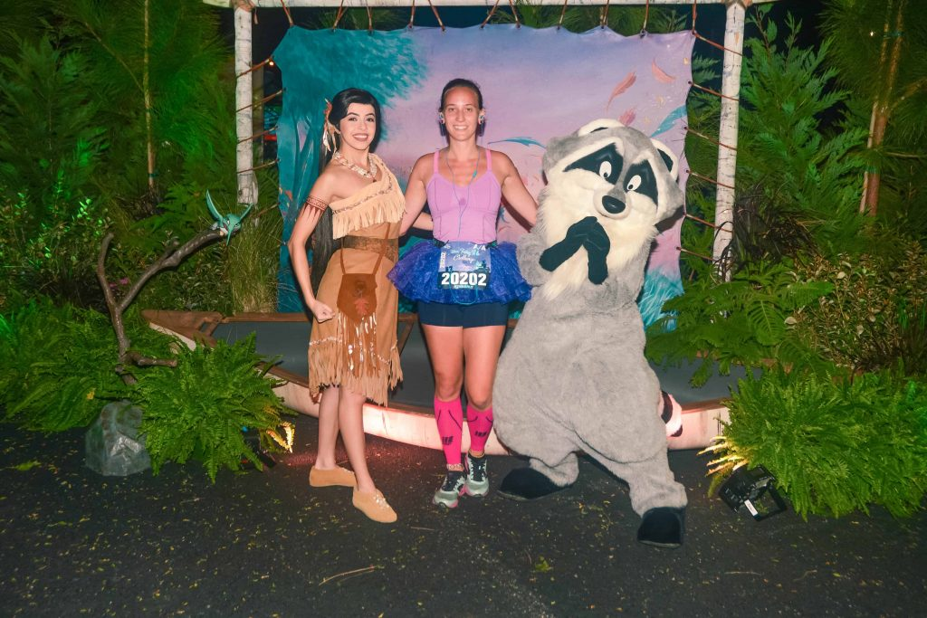 disney princess half marathon pocahontas and Miko