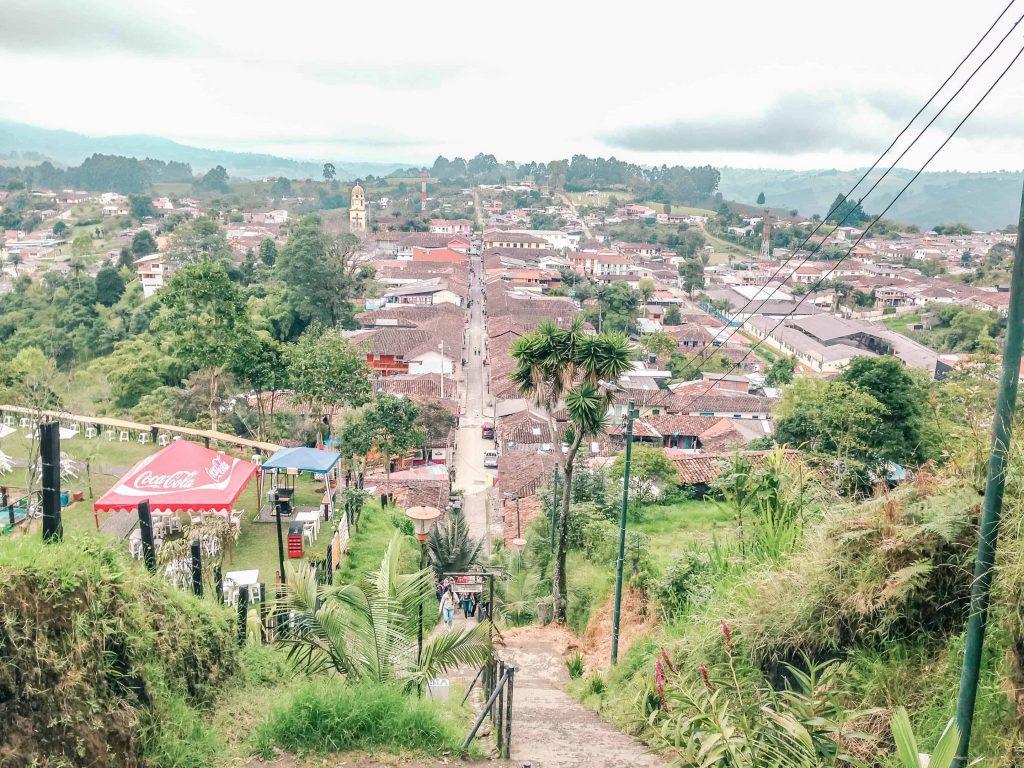 salento colombia mirador look out hike