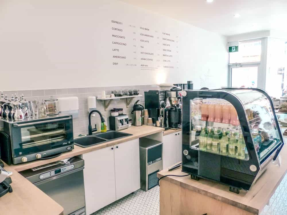 a look inside architectural arabic hailed coffee in toronto