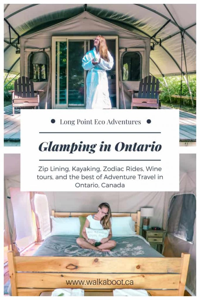 glamping in ontario adventure travel at long point eco adventures