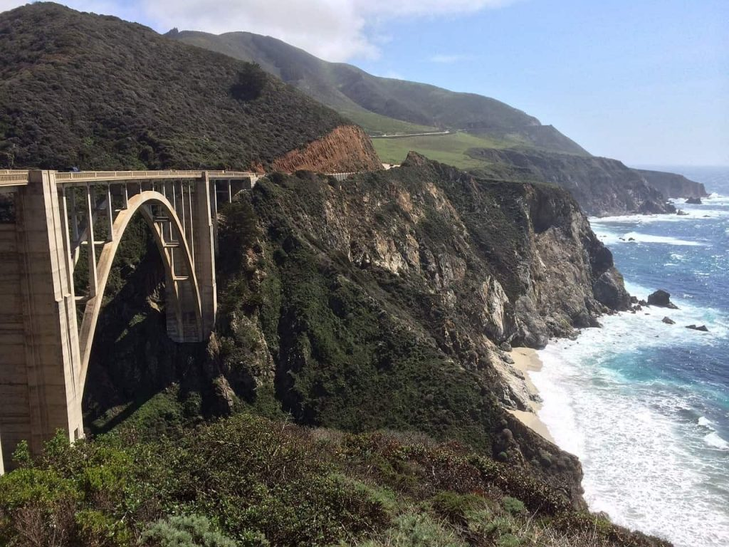 road tripping through big sur in california