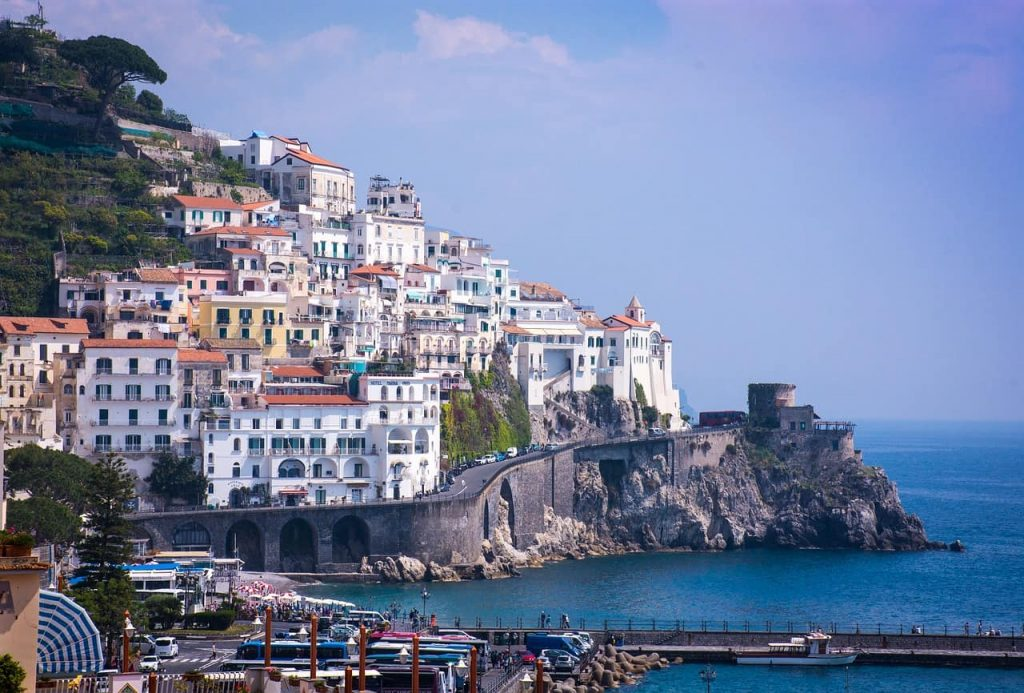 exploring the amalfi coast in italy by car