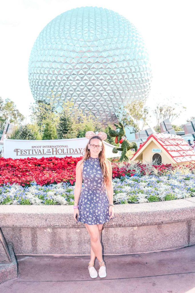 Enjoying an epcot festival at walt disney world resort in orlando as part of tips to enjoy epcot