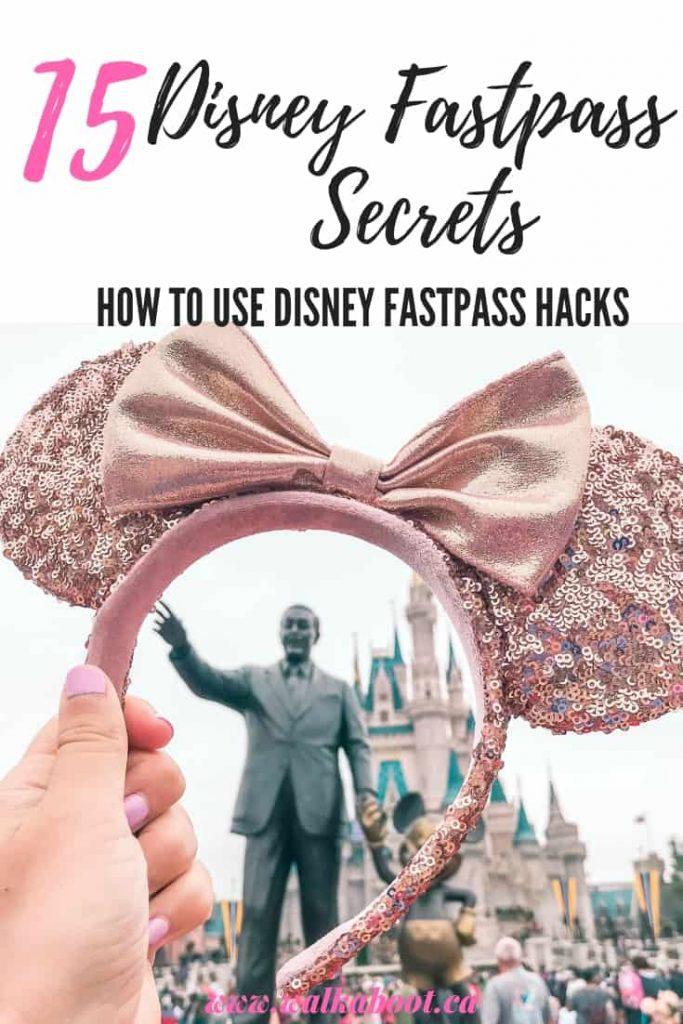 Disney fastpass secrets