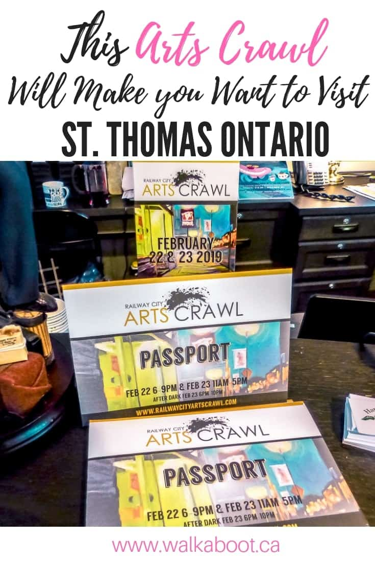 Ontario Winter event St. Thomas Arts Crawl