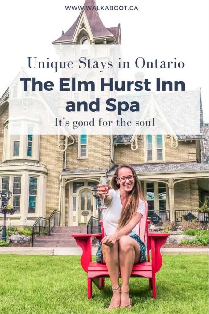 Unique hotels in Ontario