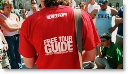 travel tips - free walking tour