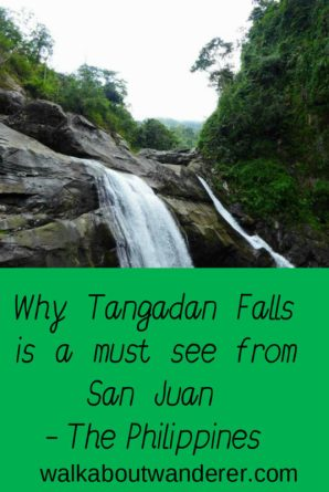 The hike to Tangadan Falls, Philippines by Walkabout Wanderer. Keywords: walking, swimming, luzon, adventure, travel, travel blogger