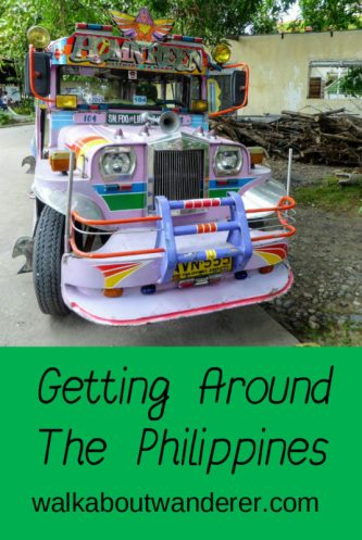 getting around the Philippines