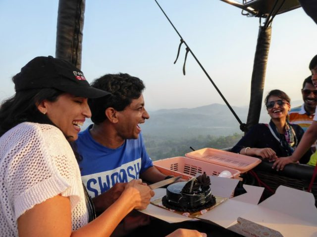 ballooning in Goa