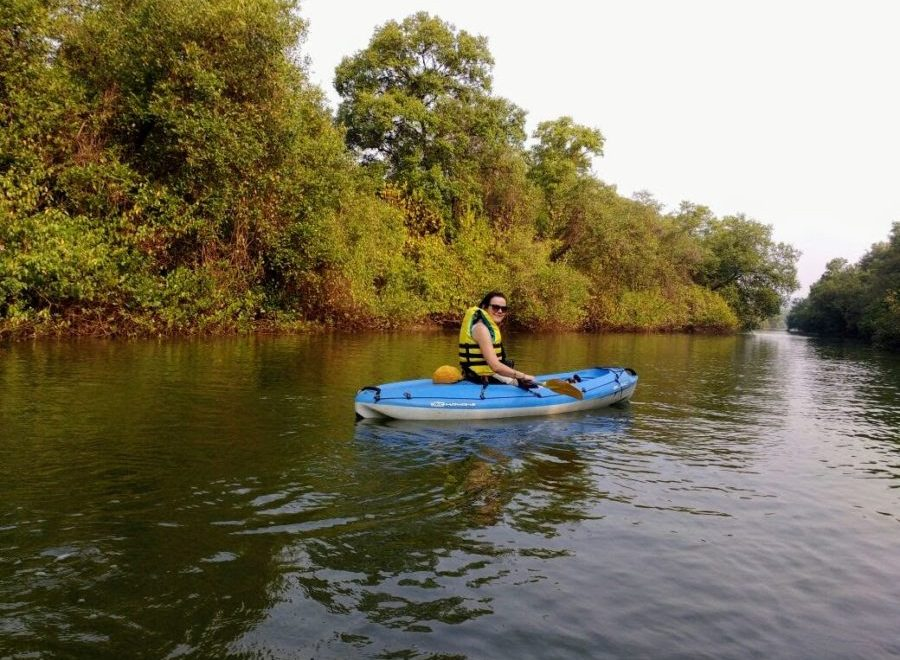 Paddling in Paradise: Kayaking Tour in Goa