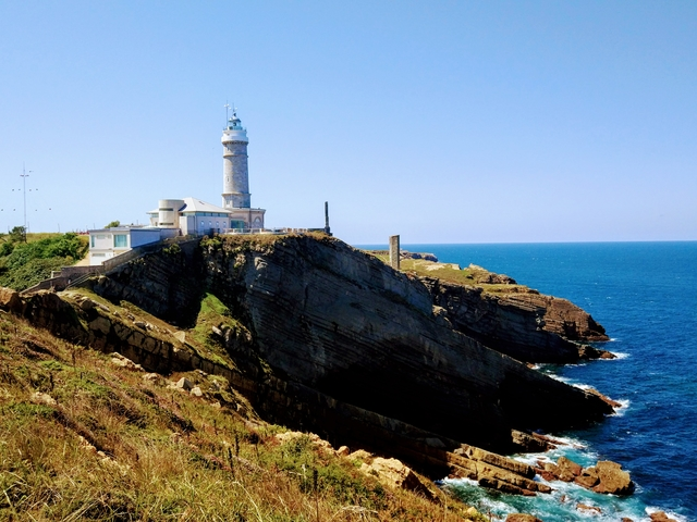 Santander Cabo Mayor Lighthouse Spain