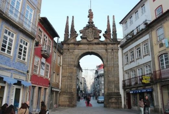 Travelling by car in Portugal Braga