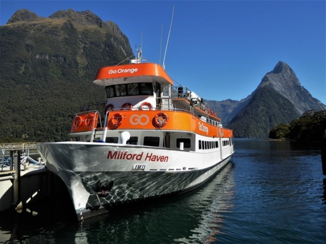 Milford Sound from Te Anau Cheap milford sound cruise