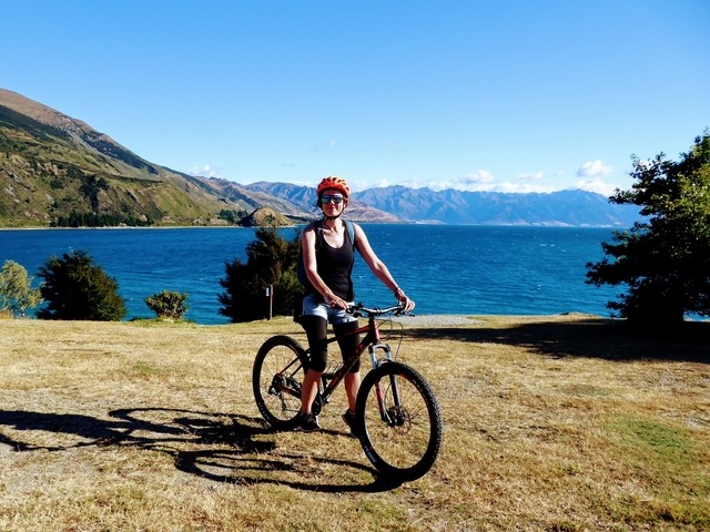 Bike rental wanaka bike tours New Zealand South Island