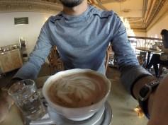 Tiny Coffee at Cafe Savoy, Prague