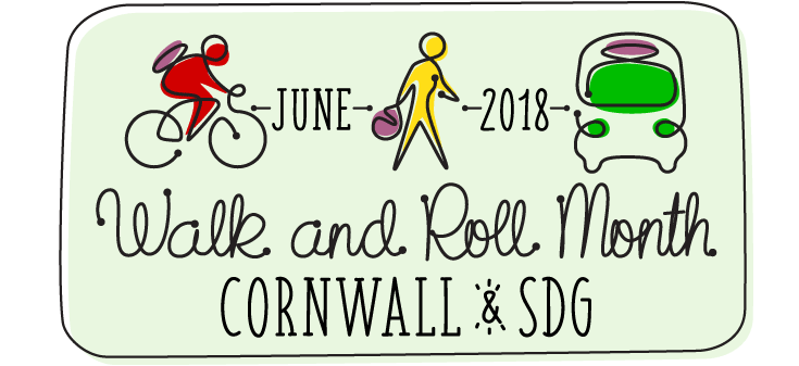 June is Walk and Roll Month