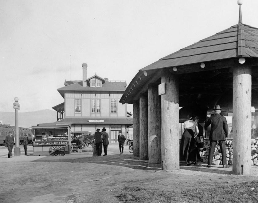 Ashland, railroad, Lithia water