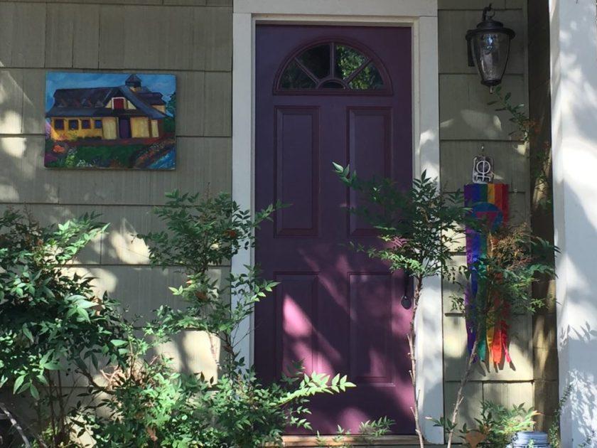 Ashland, door, art
