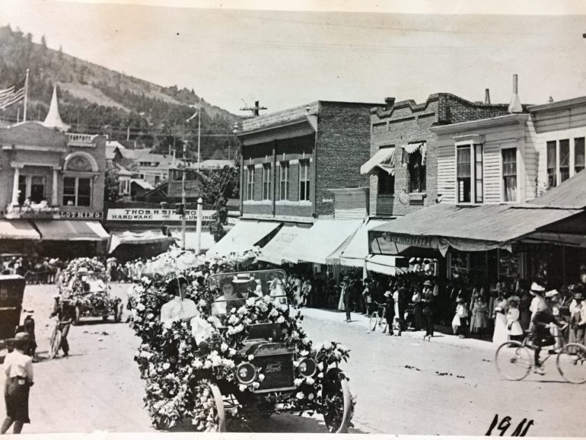 Ashland Oregon, 4th of July parade, 1911