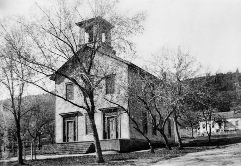 Ashland history, Ashland Academy building in 1900