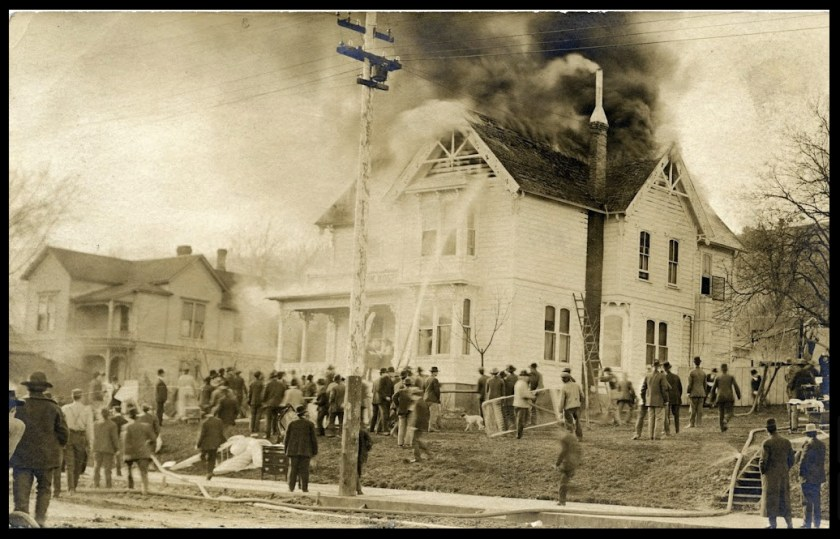 Southern Oregon Hospital fire 1909