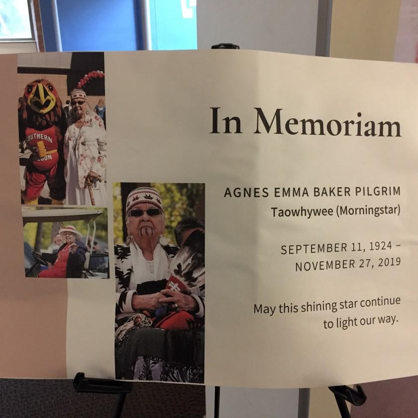 Grandma Aggie (Agnes Baker Pilgrim), In Memoriam