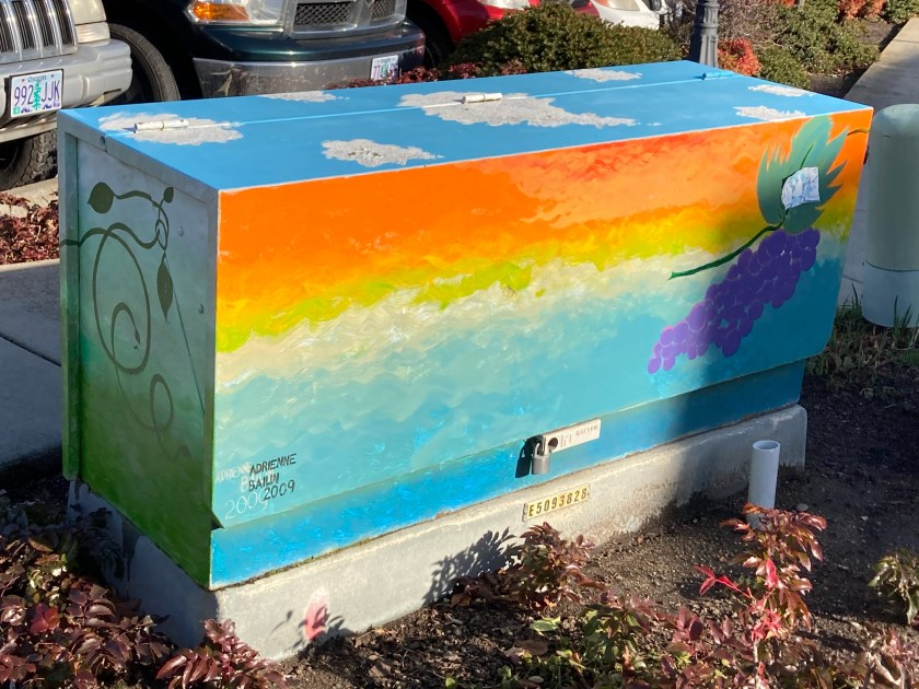 Utility box, Ashland Oregon