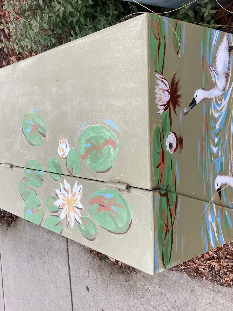 Painted utility box, Ashland