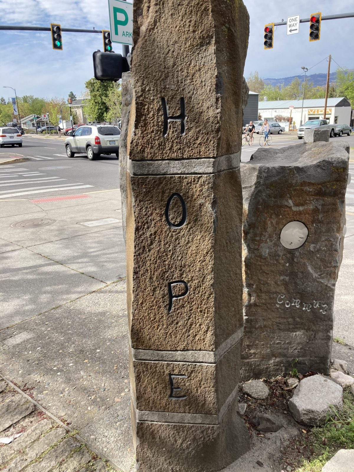 Nourishing Our Community: Public Art in Stone on Lithia Way