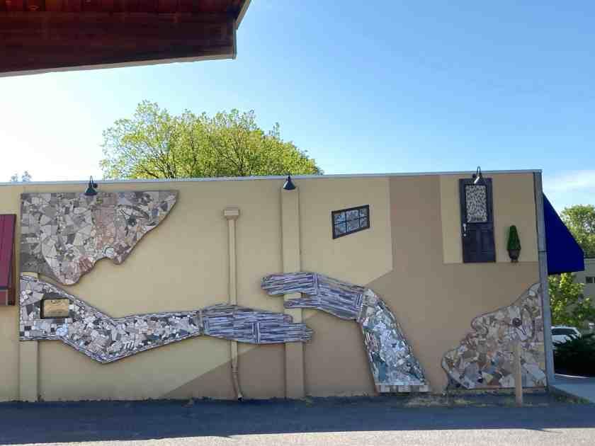Uplifting, public art in Ashland, Oregon