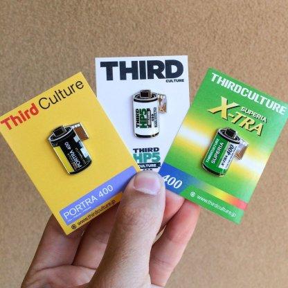 Tri-X 400 Lapel Pin