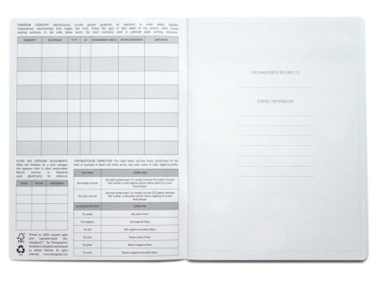 Analogbook Notebook - Darkroom Printing