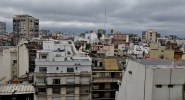 The city of Buenos Aires, from the window of my hotel room
