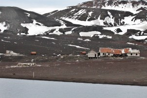 Remains of an old whaling station (Image Credit: Samuel Northern)