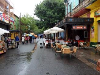 The Caminito in El Barrio de la Boca