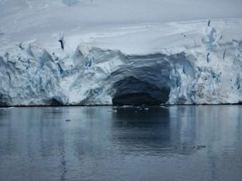 Cavern in the ice near Danco Island