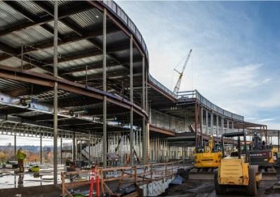 GU-ISE Building bare-bones construction image