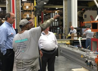Commissioner Whitfield Tours Roper