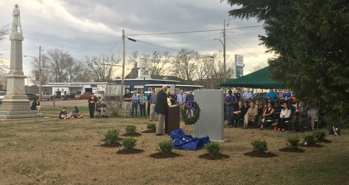 Purple Heart Memorial dedication