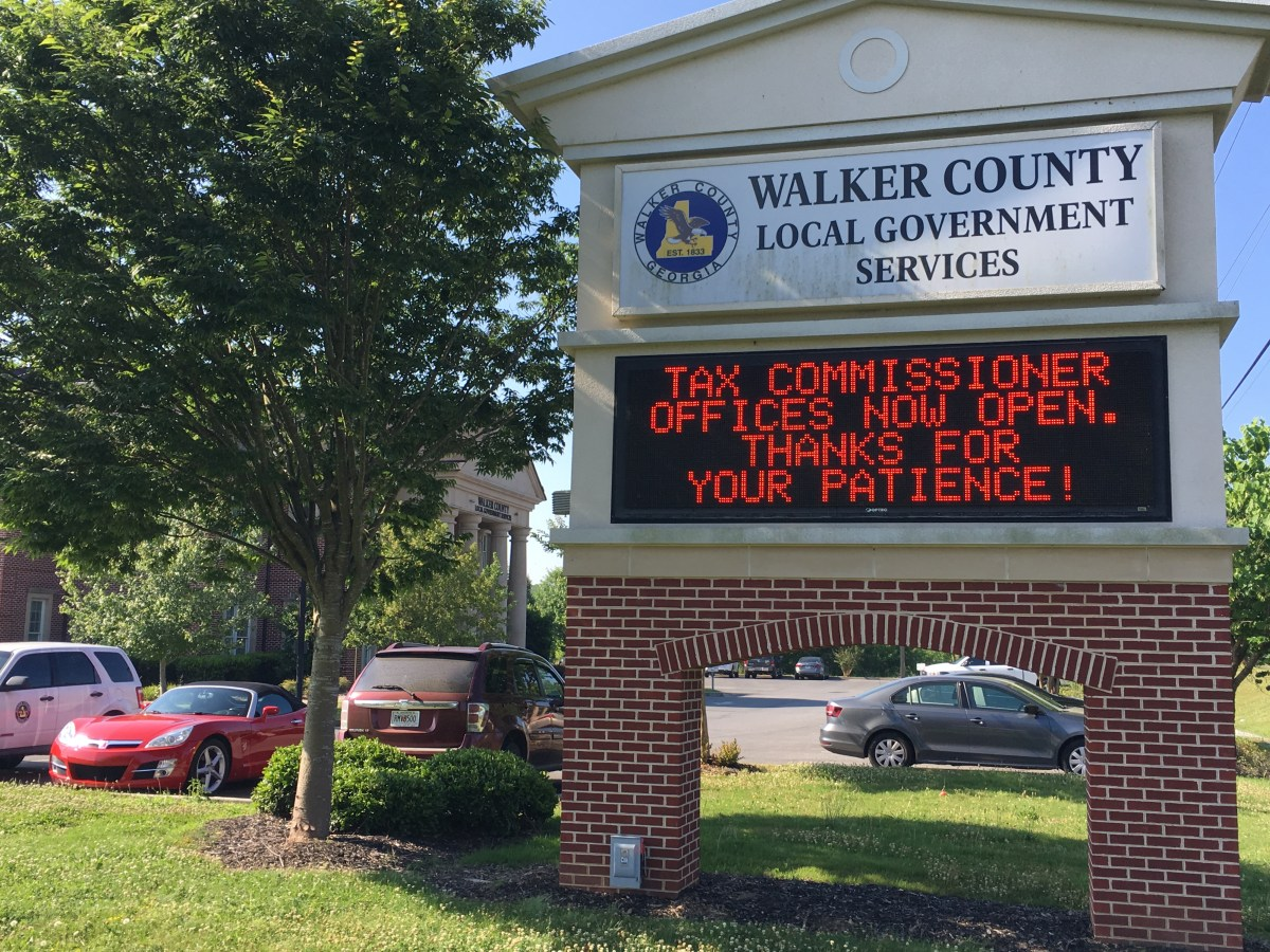 Walker County Tag Office Announces New Online Services ...
