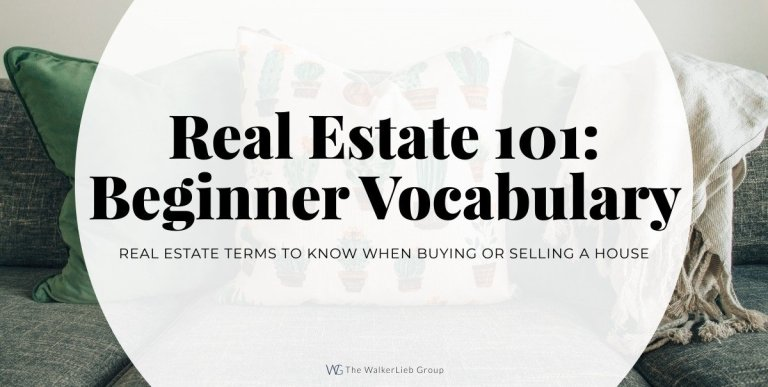 Real Estate 101: Vocabulary You Need to Know – Beginner
