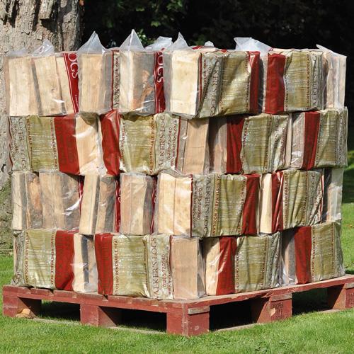 50 Kiln dried log bags