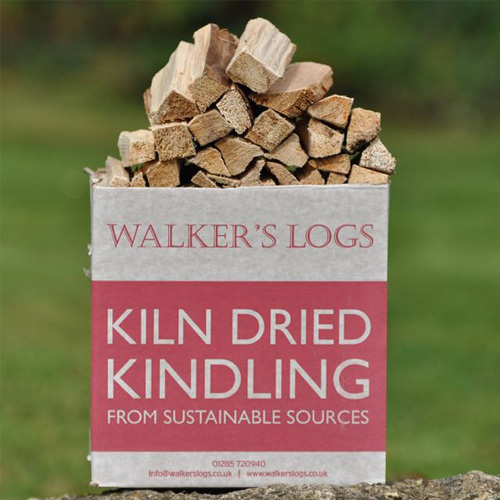 Kiln dried logs kindling 1 box