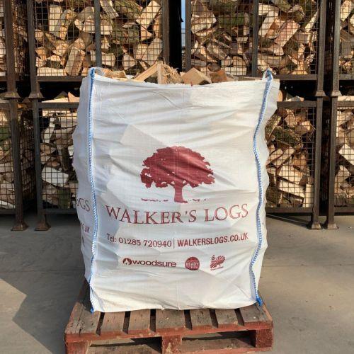 Medium Bulk Bag Kiln Dried Logs